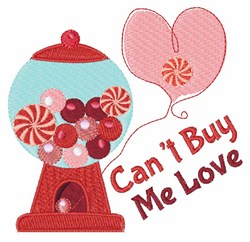 Buy Me Love embroidery design