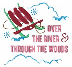 Through The Woods embroidery design