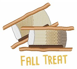 Fall Treat embroidery design