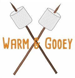 Warm & Gooey embroidery design