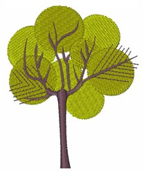 I Love Trees embroidery design
