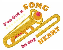 Song In My Heart embroidery design