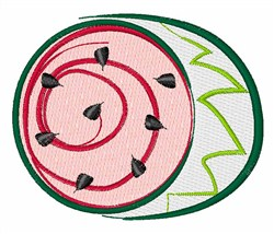 Summer Time Watermelon embroidery design