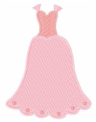 Wedding Gown embroidery design