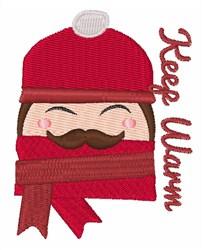 Keep Warm embroidery design