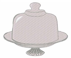 Cake Stand embroidery design