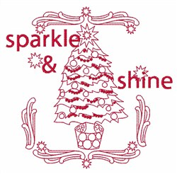 Sparkle & Shine embroidery design