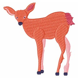 Bambi Fawn embroidery design