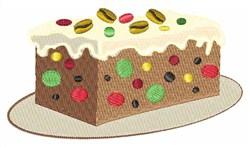 Fruitcake embroidery design