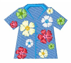 Tourist Shirt embroidery design