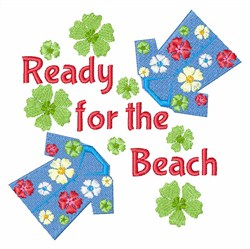 Beach Floral Shirts embroidery design