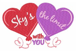 Skys The Limit embroidery design
