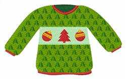 Christmas Sweater embroidery design