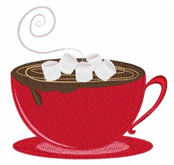 Hot Chocolate embroidery design