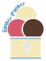 Sunday Funday embroidery design