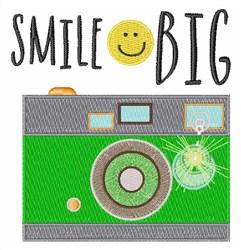 Smile Big embroidery design
