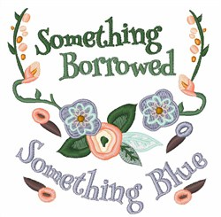 Something Borrowed embroidery design