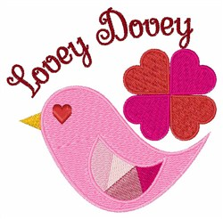 Lovey Dovey embroidery design