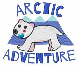 Arctic Adventure embroidery design