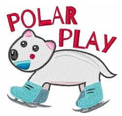 Polar Play embroidery design