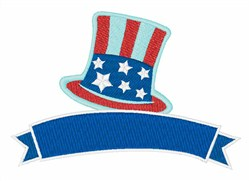 USA Hat embroidery design