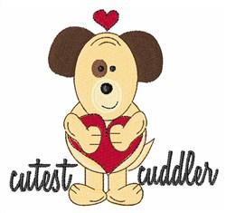 Cutest Cuddler embroidery design