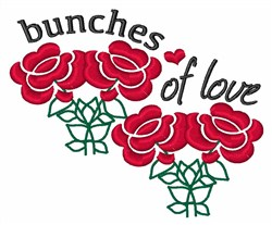 Bunches Of Love embroidery design