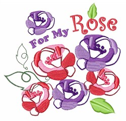 For My Rose embroidery design