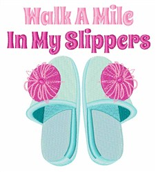 Walk A Mile embroidery design