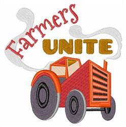 Farmers Unite embroidery design