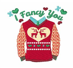 I Fancy You embroidery design