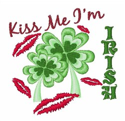 Im Irish embroidery design