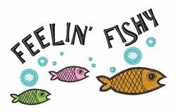 Feelin Fishy embroidery design