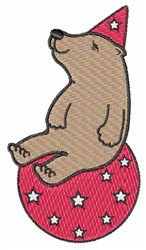 Circus Bear embroidery design