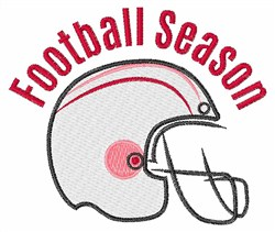 Football Season embroidery design