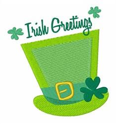 Irish Greetings embroidery design