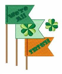 Were All Irish embroidery design