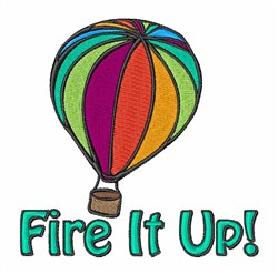 Fire It Up! embroidery design