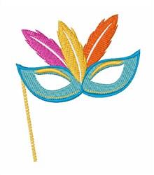 Masquerade embroidery design
