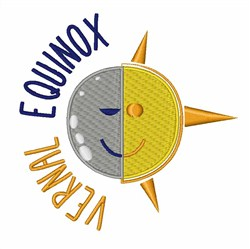 Vernal Equinox embroidery design