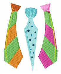 Lookin Good Neckties embroidery design
