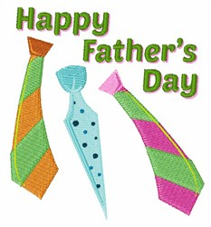 Happy Fathers Dad embroidery design