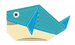 The Fish embroidery design
