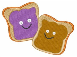 PBJ Sandwich embroidery design