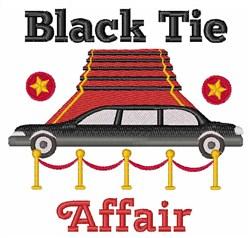 Black Tie Affair embroidery design