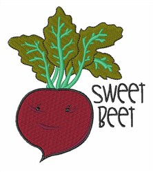 Sweet Beet embroidery design