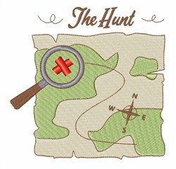 The Treasure Hunt embroidery design