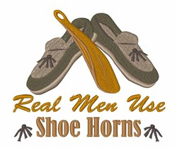Use Shoe Horns embroidery design