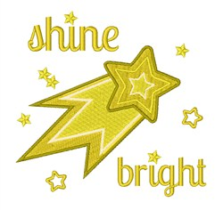 Shine Bright embroidery design