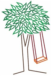 Save A Tree embroidery design